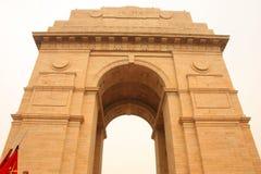 De Poort van India, New Delhi Stock Afbeelding