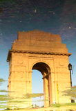 De Poort van India, New Delhi Stock Afbeeldingen