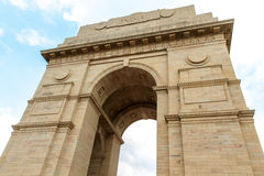 De Poort van India in New Delhi, India Royalty-vrije Stock Afbeeldingen