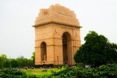 De Poort van India, New Delhi, INDIA Royalty-vrije Stock Afbeeldingen