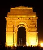 De poort van Indiia, Delhi, India Stock Afbeeldingen