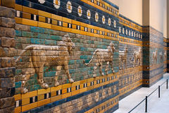 De Poort van Ishtar Stock Foto's