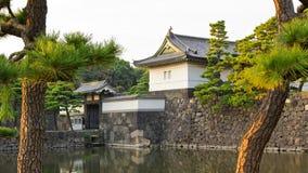 De Poort van Kikyomon, het KeizerPaleis van Tokyo Stock Foto