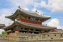 De Poort van Korea Jeonju Pungnammun Stock Afbeelding