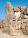 De Poort van leeuwen van Hattusa, Turkije royalty-vrije stock afbeeldingen