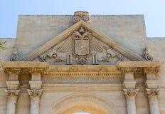 De Poort van Napels in Lecce 3 Royalty-vrije Stock Foto's