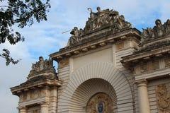 De poort van Parijs - Lille - Frankrijk Stock Foto's