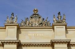 De Poort van Potsdam Stock Foto