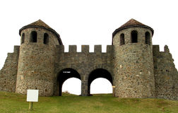 De poort van Praetoria in Roemenië Stock Fotografie