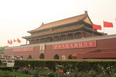 De poort van Tianan van Verboden Stad royalty-vrije stock afbeeldingen