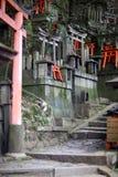 De Poort van Torii stock foto's