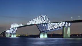 De Poortbrug van Tokyo Stock Afbeelding