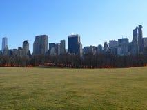 De poorten in Central Park Royalty-vrije Stock Afbeelding