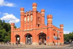 De Poorten van de koning in Kaliningrad Royalty-vrije Stock Afbeeldingen