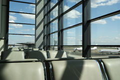De poorten van de luchthaven Royalty-vrije Stock Foto