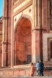 De poorten van Fatehpursikri Stock Afbeelding