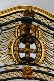 De Poorten van het Buckingham Palace royalty-vrije stock afbeeldingen