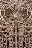 De poorten van het rooster van het Paleis van de Winter, StPb Royalty-vrije Stock Fotografie