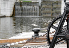De poorten van het water Stock Foto