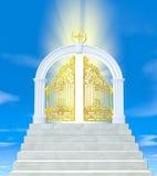 De poorten van paradijs Stock Fotografie