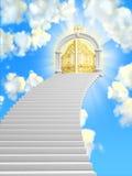 De poorten van paradijs royalty-vrije stock afbeeldingen