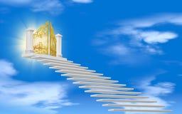 De poorten van paradijs Stock Afbeeldingen