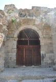 De poorten van Roman baden Royalty-vrije Stock Foto