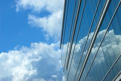 De poorten van wolken stock fotografie