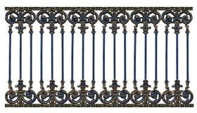 De poortpatroon van het legeringsstaal Stock Afbeelding