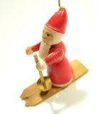 De pop van de kerstman Stock Afbeelding