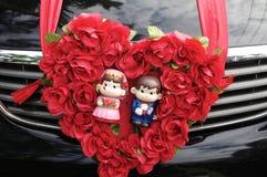 De pop van het huwelijk Stock Afbeelding