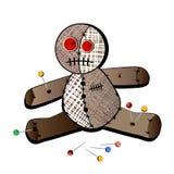 De pop van het voodoo Stock Afbeeldingen