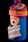 De pop van Kerstmis Stock Afbeeldingen