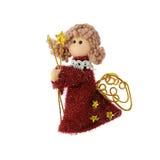 De pop van Kerstmis een engel royalty-vrije stock afbeeldingen