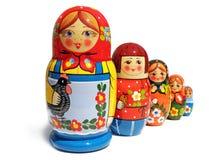 De pop van Matreshka stock afbeelding