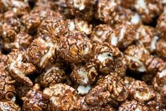 De popcorn van de chocolade Royalty-vrije Stock Afbeeldingen