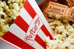 De Popcorn van de film royalty-vrije stock foto