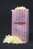 De Popcorn van de film stock foto