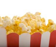 De Popcorn van de film Royalty-vrije Stock Afbeeldingen