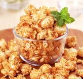 De popcorn van de karamel Royalty-vrije Stock Afbeeldingen