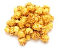 De popcorn van de karamel stock foto