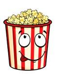 De popcorn van het beeldverhaal Royalty-vrije Stock Afbeelding