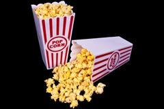 De Popcorn van het theater Royalty-vrije Stock Foto