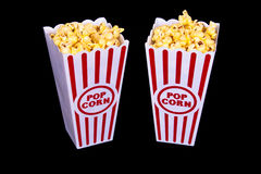 De Popcorn van het theater voor Twee Royalty-vrije Stock Fotografie