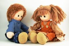 De poppen van een Paar Stock Afbeelding