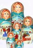 De poppen van Matrioshka Royalty-vrije Stock Afbeelding