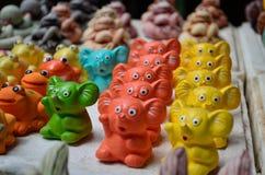 De poppengroep van het pleister Stock Afbeelding