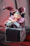 De poppenstuk speelgoed van Arlekino Stock Foto's