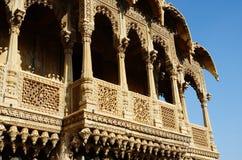 De populaire toeristische architecturale oriëntatiepunten van Rajasthan, India Royalty-vrije Stock Afbeeldingen