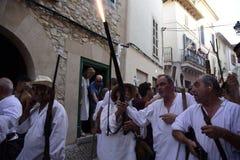 De populaire vieringen legt en christenen vast royalty-vrije stock fotografie